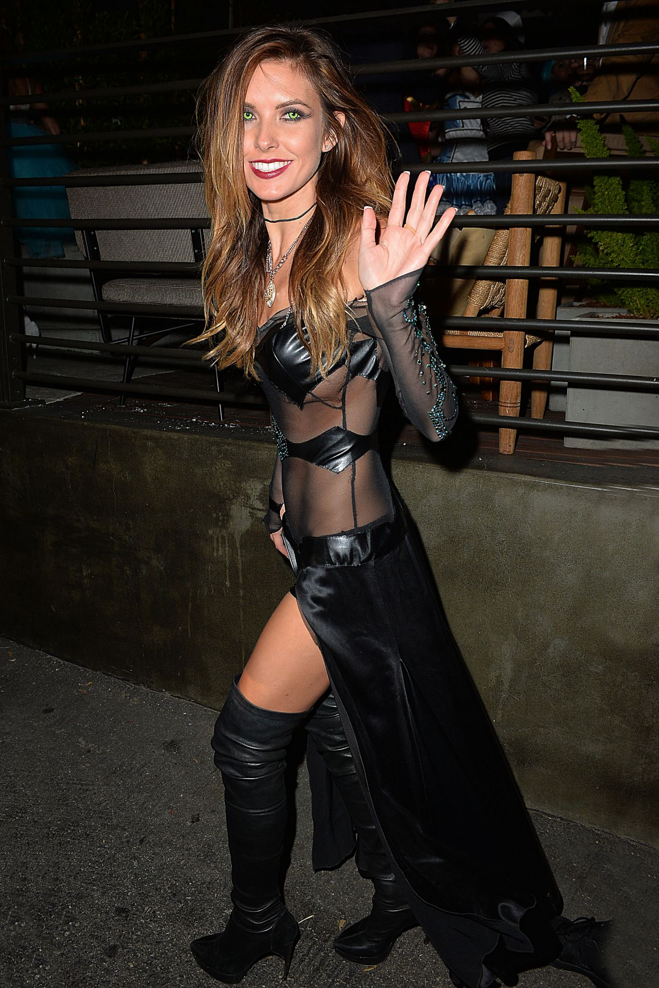 Audrina Patridge - Halloween Party at Hyde - October 2014