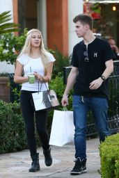 Ava Sambora in Tights - Out in Calabasas, October 2014