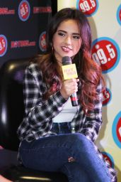 Becky G - HOT 99.5 in Rockville in Maryland, October 2014