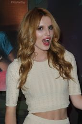 Bella Thorne at Disney Store in Times Square in New York City, October 2014