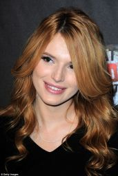 Bella Thorne at the Haunted Hayride in Los Angeles - October 2014