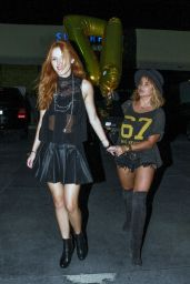 Bella Thorne Night Out Style - Leaving Sugar Fish in Studio City - 17th Birthday