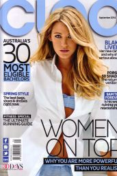 Blake Lively - Cleo Magazine September 2014 Issue