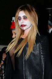 Brittny Gastineau - Leaving The Casamigos Tequila Halloween 2014 Party