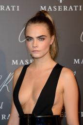 Cara Delevingne – 2014 CR Fashion Book #5 Launch Party in Paris