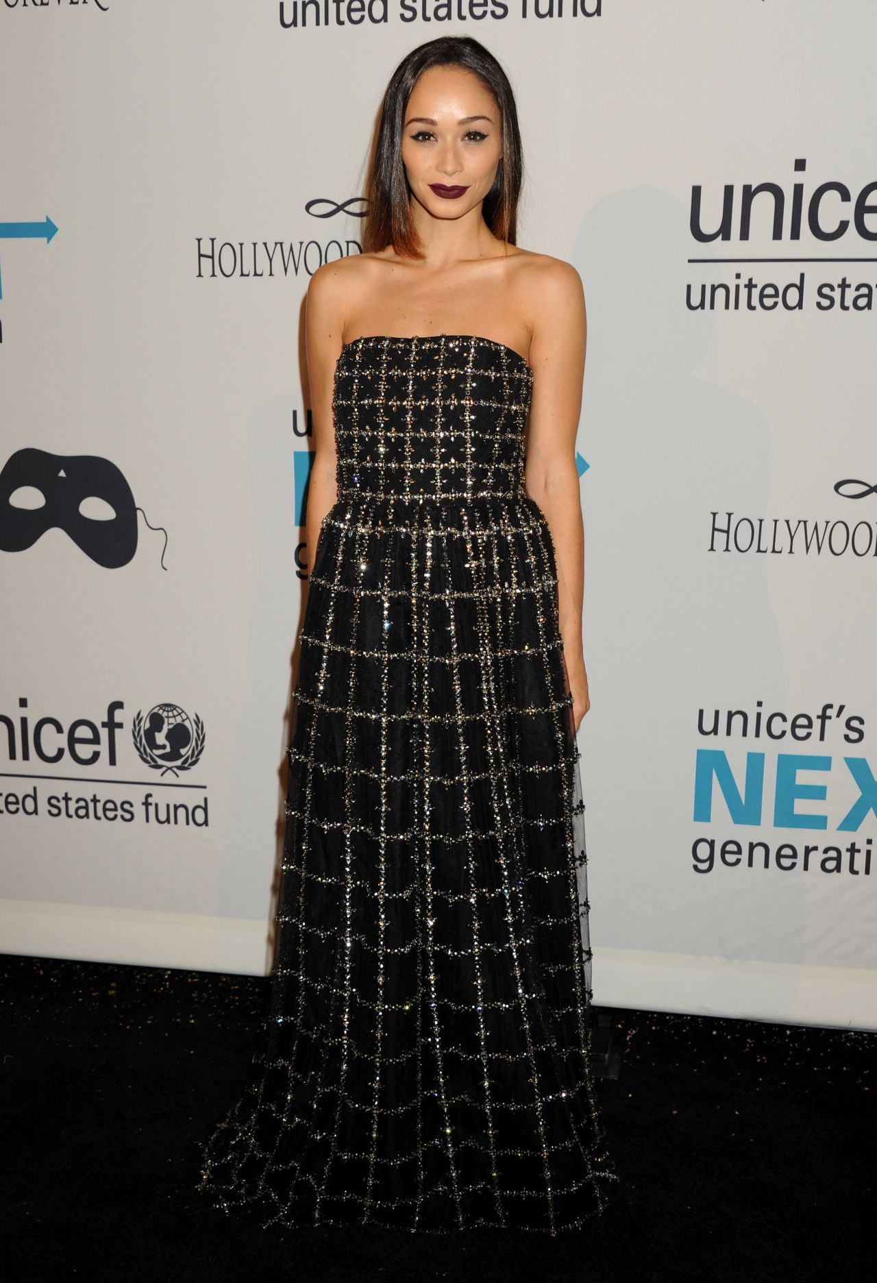 Cara Santana – 2014 UNICEF's Next Generation's Masquerade Ball in Los Angeles