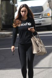 Cara Santana in Tights - Out in Los Angeles, Sept. 2014