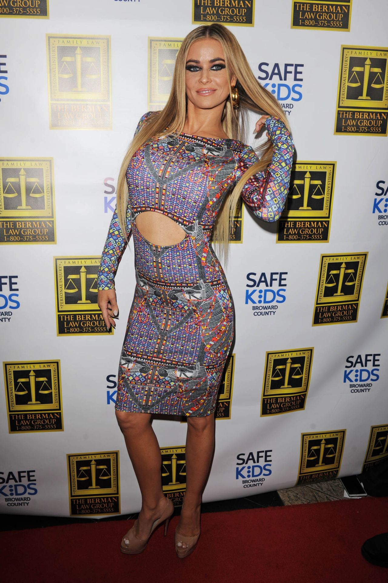Carmen Electra Hosts Fright Night by Berman & Berman Law in Boca Raton, Oct. 2014