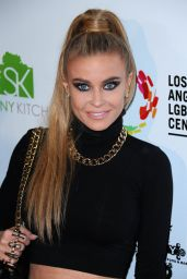 Carmen Electra - Marco Marco Fashion Show in Los Angeles, Oct. 2014