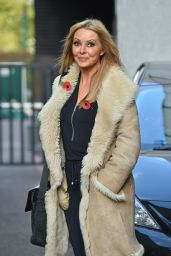 Carol Vorderman Style - at London studios - October 2014