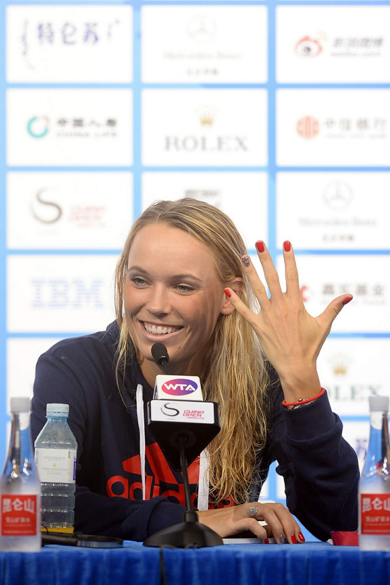 Caroline Wozniacki - 2014 China Open in Peking - Press Conference