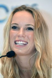 Caroline Wozniacki – BNP Paribas WTA Finals 2014 Singapore Press Conference