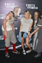 Cassie Scerbo at Knotts Scary Farm Celebrity VIP Opening at Knott's Berry Farm