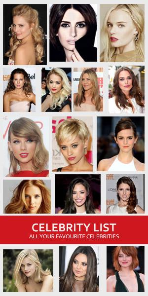 Celebrity List