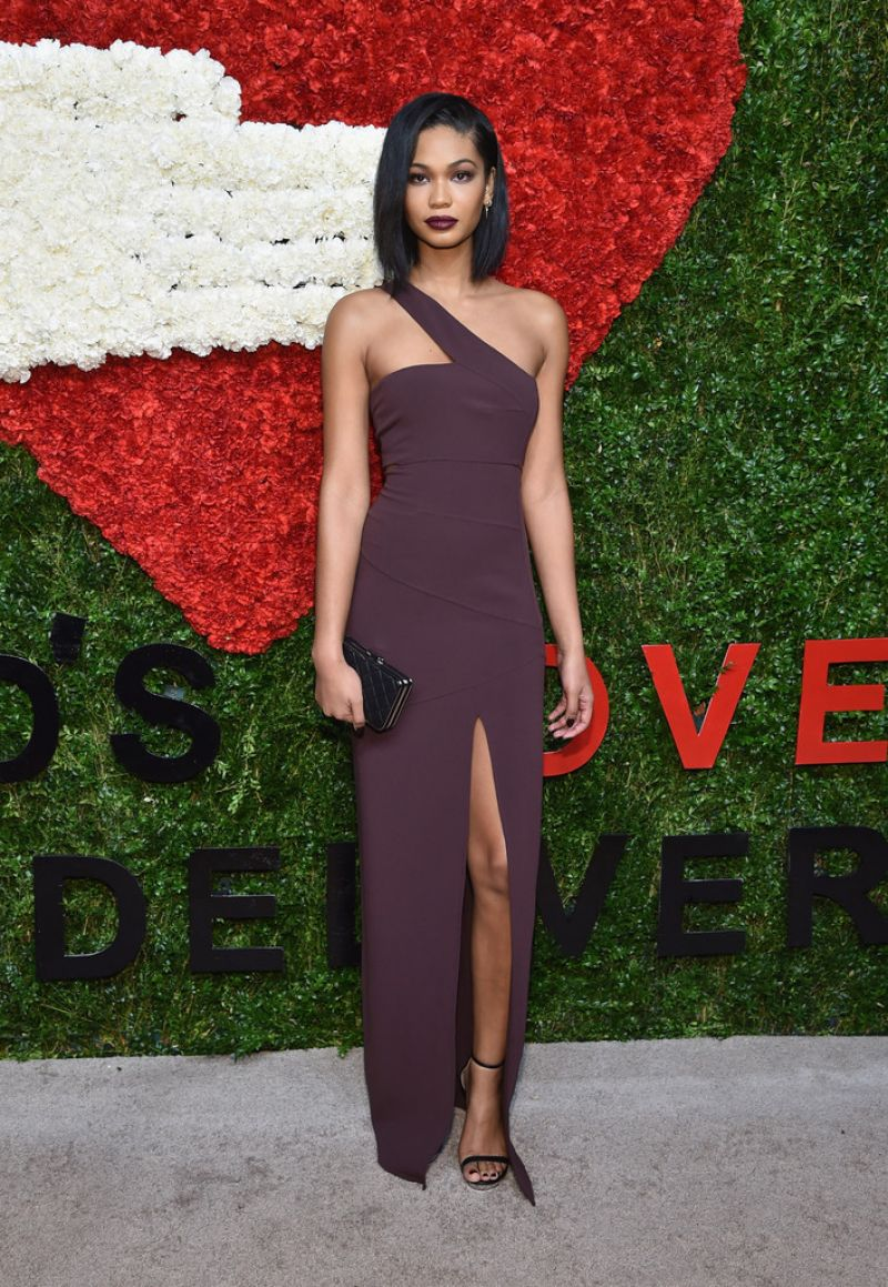 Chanel Iman – 2014 God's Love We Deliver Golden Heart Awards