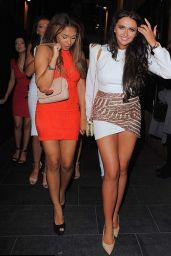 Charlotte Dawson - Her 22nd Birthday Party in The Neighbourhood Club In Manchester