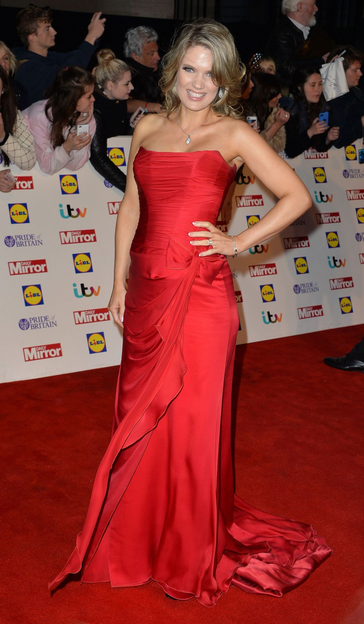 Charlotte Hawkins - Pride of Britain Awards 2014