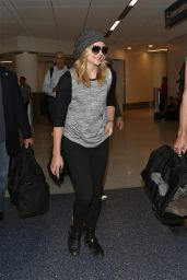 Chloe Moretz at LAX Airport in Los Angeles - October 2014