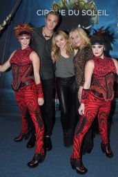 Chloe Moretz – Cirque Du Soleil Amaluna Premiere Night in Atlanta – October 2014