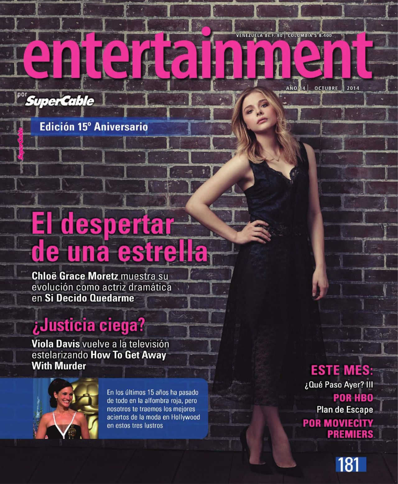 Chloe Moretz - Entertainment SuperCable Magazine October 2014 Issue