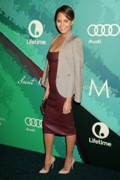 Chrissy Teigen – 2014 Variety Power Of Women Event in Beverly Hills