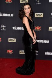 Christian Serratos – 'The Walking Dead' Season Five Premiere in Universal City
