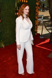 Christina Hendricks - 2014 Veuve Clicquot Polo Classic in Pacific Palisades
