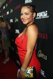 Christina Milian – Latina Magazine's 'Hollywood Hot List' Party in West Hollywood – October 2014