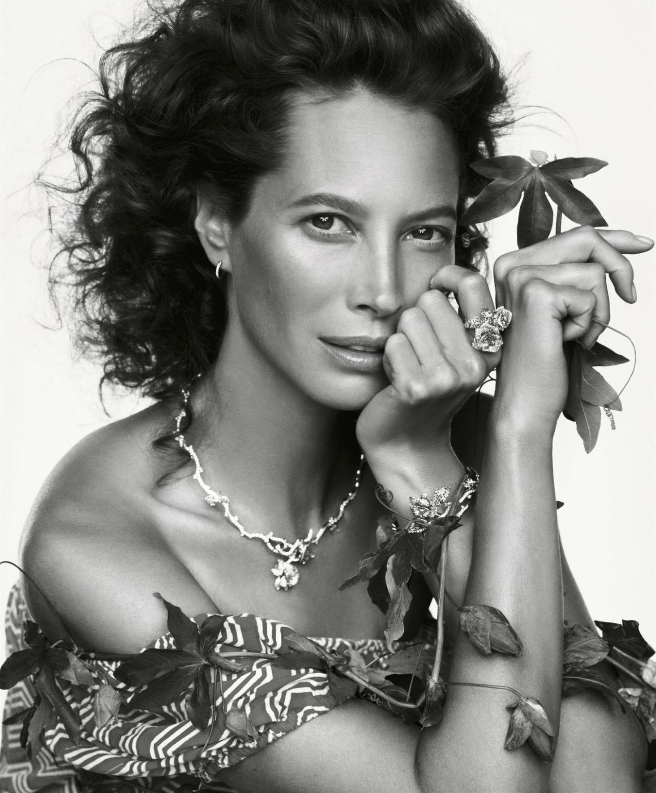 Christy Turlington - Photoshoot for Porter Magazine - Winter 2014