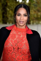 Ciara - Paris Fashion Week - Valentino Spring/Summer 2015 Fashion Show