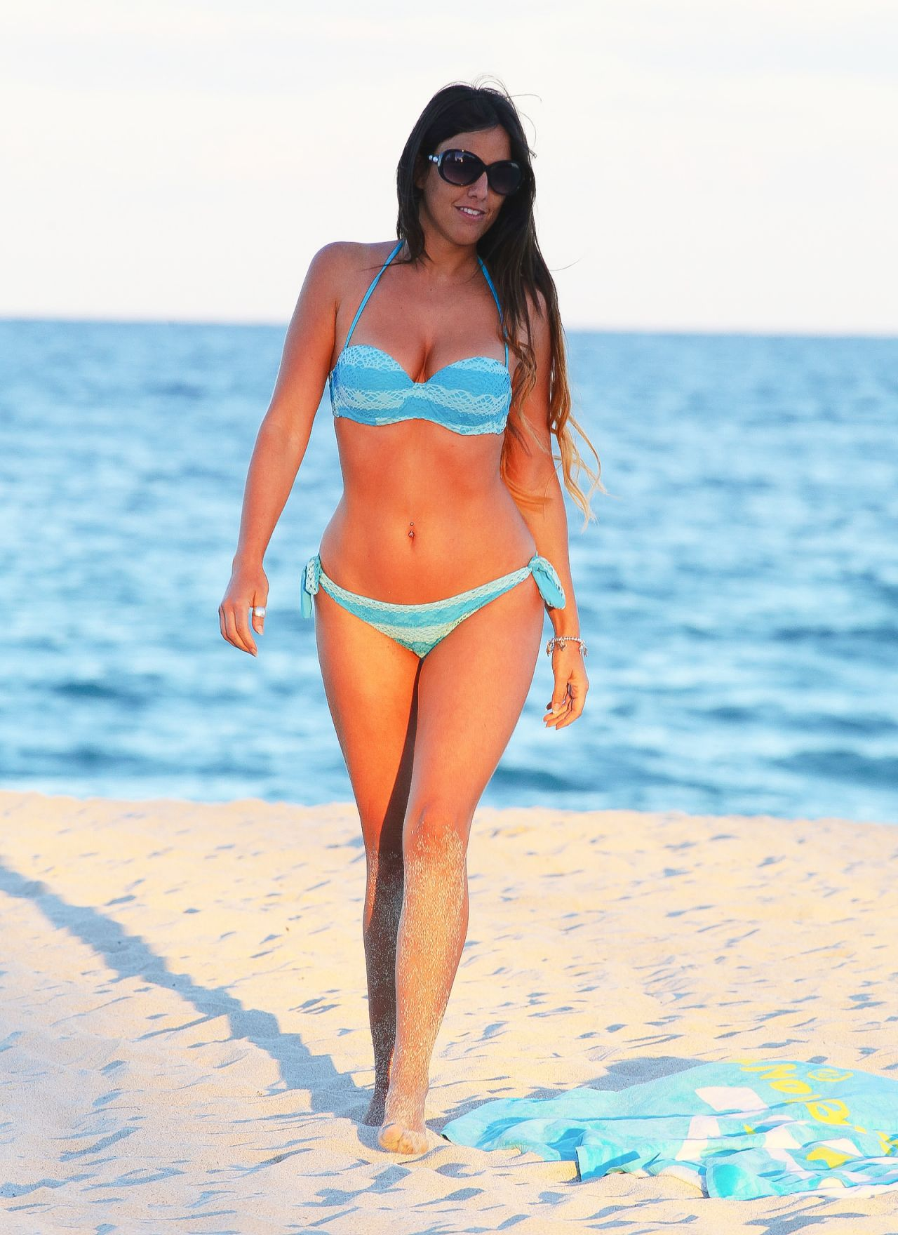 Claudia Romani in a Bikini in Miami - October 2014