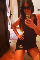 Claudia Romani Snaps a Selfie - Sept. 2014