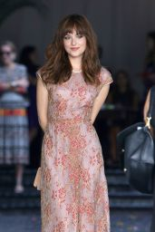 Dakota Johnson - Arriving at the 2014 CFDA/Vogue Fashion Fund Event