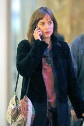 Dakota Johnson at the Vancouver International Airport - October 2014