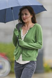 Dakota Johnson - Filming