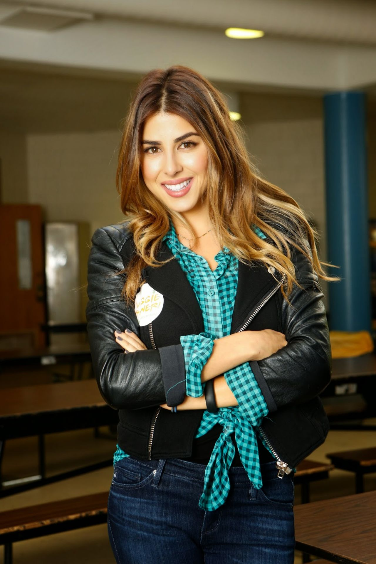 Daniella Monet - Lean & Green on a Meatless Monday in Philly - October 2014