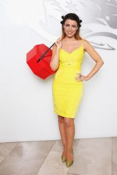 Dannii Minogue - Hat Valet Promotion at Sydney Airport - October 2014