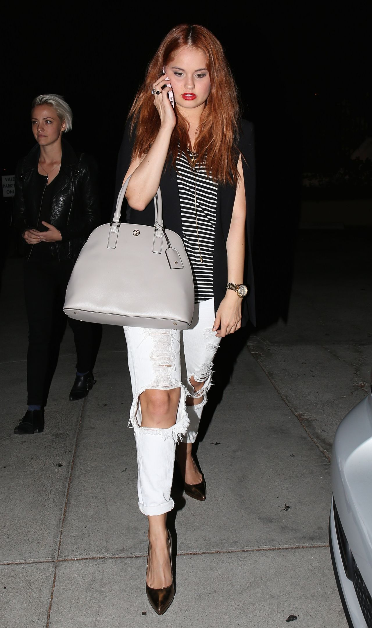 Debby Ryan Night Out Style - Out in Hollywood - October 2014
