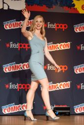 Deborah Ann Woll - Promoting Daredevil at Comic-Con in New York City - Oct 2014