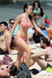 Demi Harman Bikini Candids - at a Beach in Sydney - October 2014