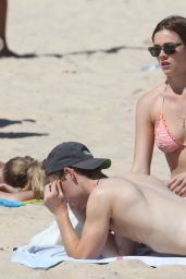 Demi Harman Bikini Candids - at a Beach in Sydney - October 2014