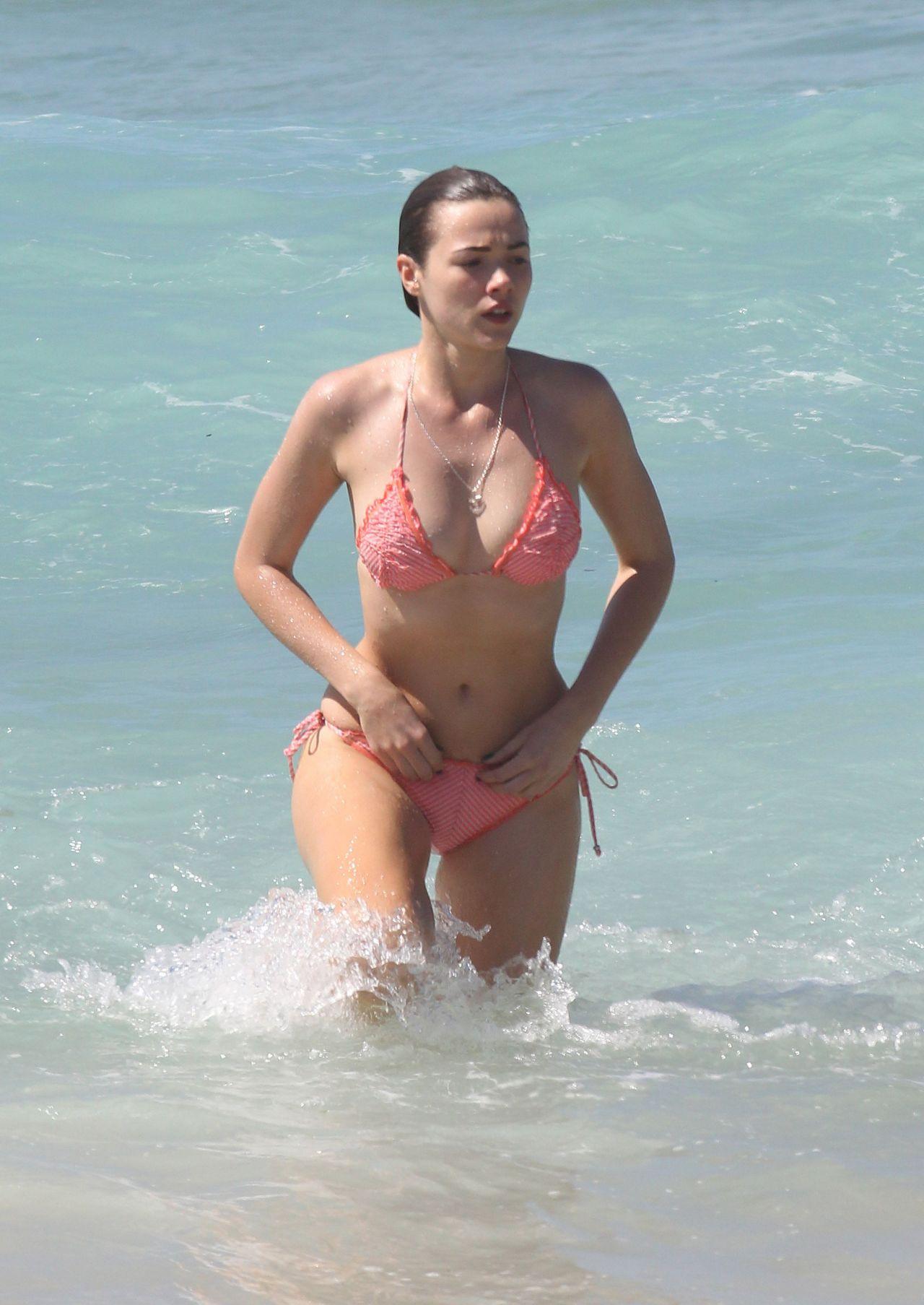 Demi Harman Bikini Candids - At A Beach In Sydney-7362