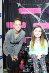 Demi Lovato at her Meet & Greet in Hamilton - October 2014