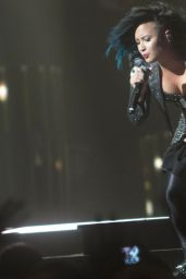 Demi Lovato Performs at Neon Lights World Tour in Calgary