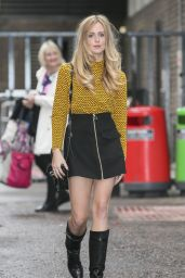 Diana Vickers at the ITV London Studios - october 2014