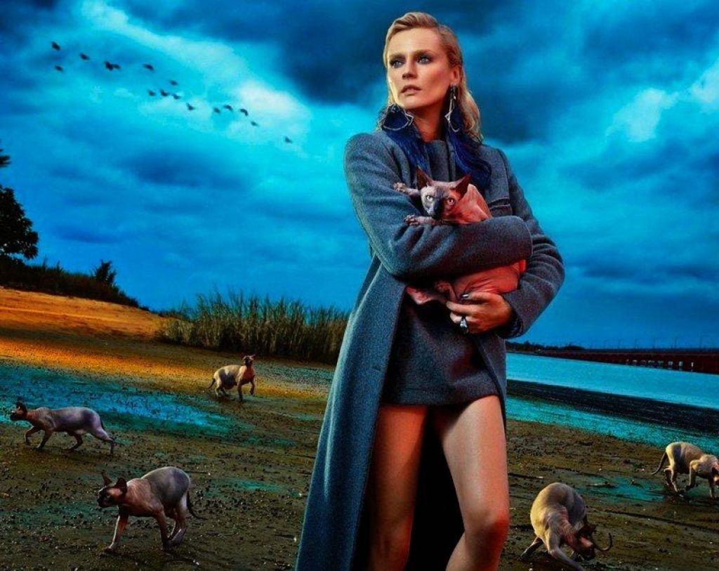 Diane Kruger - Flaunt Magazine November 2014 Issue