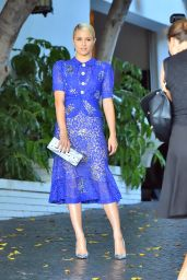 Dianna Agron Arriving at the 2014 CFDA/Vogue Fashion Fund Event