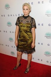 Dianna Agron - Brian Bowen Smith Wildlife Show in West Hollywood - October 2014