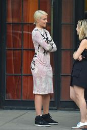 Dianna Agron Style - Out in SoHo, September 2014