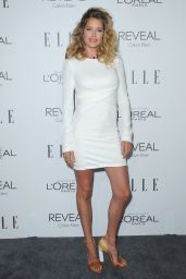 Doutzen Kroes on Red Carpet – ELLE's 2014 Women in Hollywood Awards